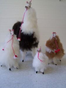 Plüschtiere aus Alpakafell